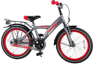 E&L Cycles Kinderfahrrad Volare Thombike Grau - 18 Zoll mit Rücktrittbremse - 95% montiert