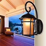 JIAJU5 Villa Garten Au?enbeleuchtung Retro Hof Korridor Aisle Outdoor Wandleuchte (Dieses Produkt liefert Keine Gl¨¹hbirnen)
