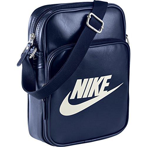 Nike Heritage Si Small Items Ii Borsa a Tracolla, Uomo, Multicolore (Loyal Blue/Loyal Blue/Sail), Taglia Unica