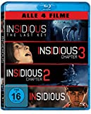 Insidious 1-4 (exklusiv bei Amazon.de) [Blu-ray] [Limited Edition]
