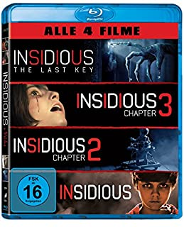 Insidious 1-4 (exklusiv bei Amazon.de) [Blu-ray] [Limited Edition]