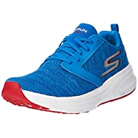 SKECHERS Go Run Ride 7, Men's Road Running Shoes, Red (Royal Red), 9 UK (43.5 EU)