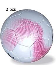 1d111ecf80dec Taille officielle de 4 ballons de football pour garçons de 4 football  classique en noir et