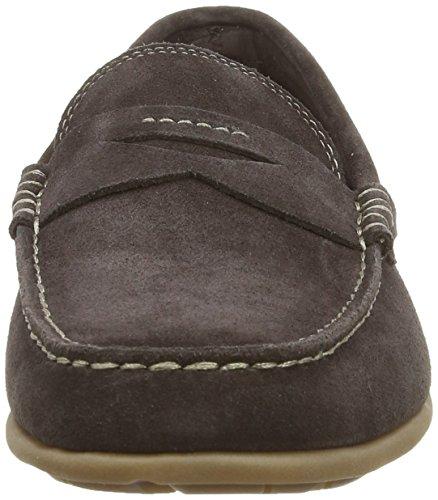 Rockport  BENNETT LANE 3 Penny, Mocassins (loafers) homme Marron (Dark Brown Wash Suede)