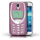 Hülle für Samsung Galaxy S4/SIV / Rosa Nokia 3310 / Vintage Handys Kollektion