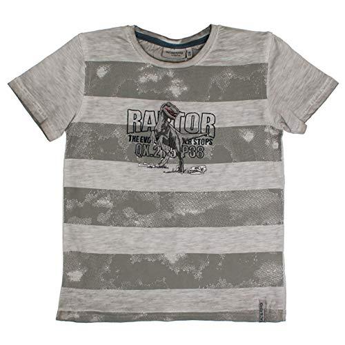 buy online ba80a ba7b2 Salt & Pepper T-Shirt Hunter Stripe Bambino