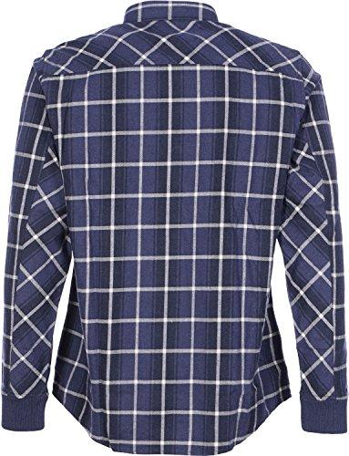 Carhartt Sampras chemise bleu beige à carreaux