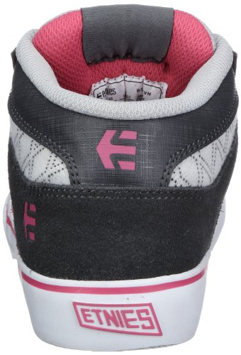 Etnies RVM W'S 4201000227, Chaussures de skateboard femme Gris-TR-L-1-123