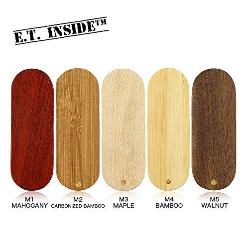E.T. INSIDE™ 5 Stück Holz und Bambus USB 3.0 Sticks 32GB Schweizer Taschenmesser USB-Flash-Laufwerk Spezieller Entwurf