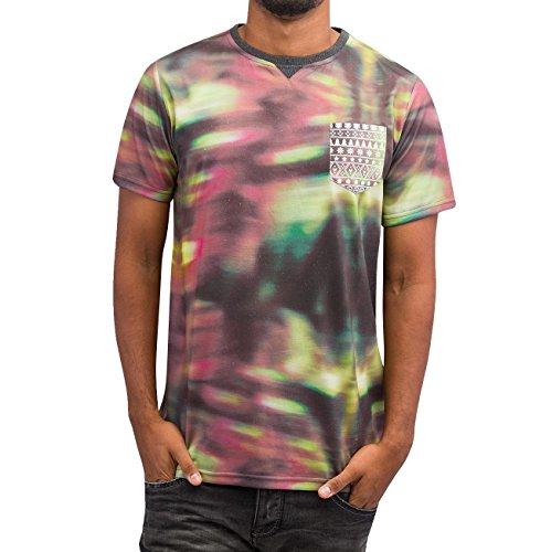 Just Rhyse Herren Oberteile / T-Shirt Digital Bunt
