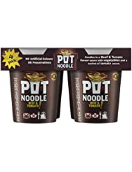Pot Noodle Beef & Tomato 4 Pack