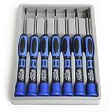 StarTech.com CTK100P Kit de 7 Tournevis de Précision pour Ordinateurs Trousse à Outils PC 3x Plat 2x Cruciforme 2x Torx
