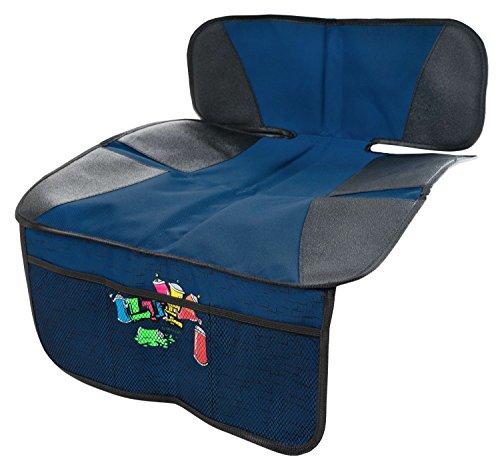 Walser 26187 Kindersitzunterlage – Autositzauflage – Schutzunterlage - Rücksitzschoner - Graffiti Blau