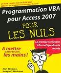 Programmation VBA pour Access 2007 po...