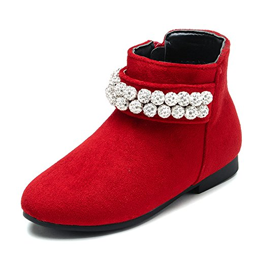 XTIAN , Chaussons montants fille Rouge