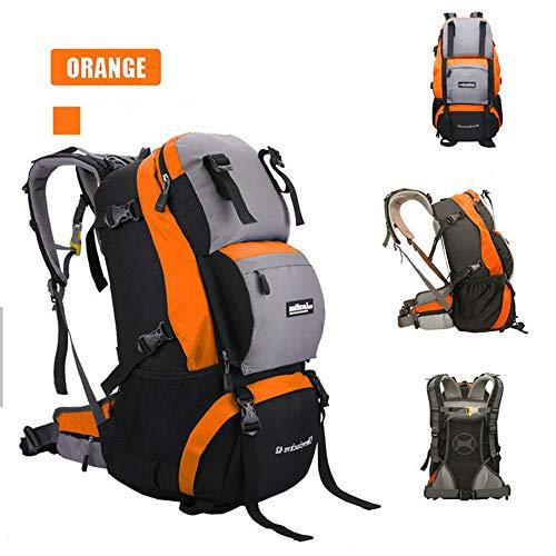 TnXan Waterproof Nylon Women&Men Travel Hiking Backpack Camping Climbing Rucksack Mountaineering Hiking Cycling Outdoor Sports Bag 40L