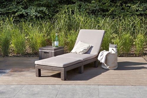 Koll Living Gartenliege / Sonnenliege Sunlocker