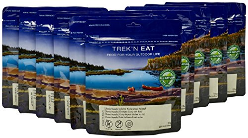 Trek'n Eat Best of Vegan Paket 2017 Camping Mahlzeit