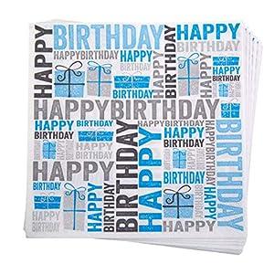 Neviti 674513feliz cumpleaños servilletas