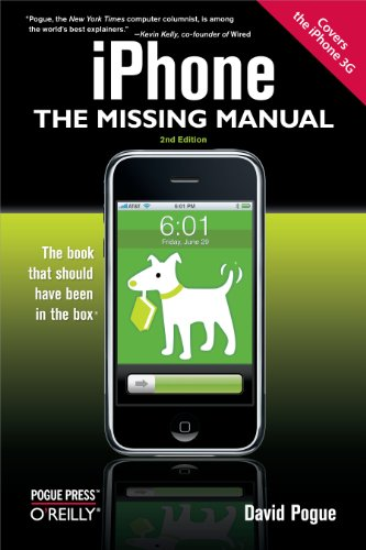 iPhone: The Missing Manual: Covers the iPhone 3G (English Edition) (Iphone 3 Att)
