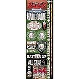 Unbekannt Real Sport Die-Cut Cardstock Stickers 4.25'X13'-Baseball Combo