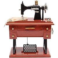 Ainybaby - Mini máquina de Coser mecánica con Caja de música ...