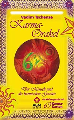 Karma Orakel: Set mit Buch und Karten/Der Mensch und die karmischen Gesetze