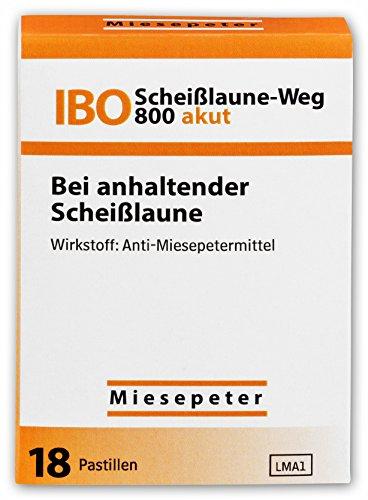 Miesepeter – IBO Scheißlaune-Weg 800 akut Lutschdragées – Bei anhaltender scheiß Laune – Lutschdragees / Lutschbonbons / Bonbons / Lutschpastillen / Lustige Bonbons / Witzige Bonbons / Lustige Süßigkeiten / Witzige Süßigkeiten / Süssigkeiten Box – Naschen Nascherei – Lustiger Scherzartikel / Witziger Scherzartikel (Orange, 1 Pack – 18 Dragées)