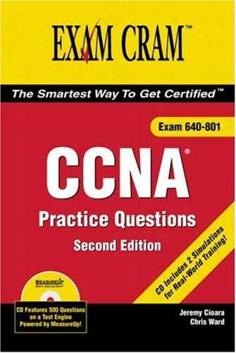CCNA Practice Questions Exam Cram 2 por Jeremy Cioara