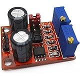 kaisil Sensor/Módulo de pulso NE555Frecuencia Ciclo de trabajo ajustable Módulo generador de señal Square rectángulo onda Paso Motor