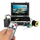 Lixada Impermeable cámara de pesca submarina Center≥1000TVL Touch botón 9 'LCD monitor 12pcs LED lámpara Fish Finder