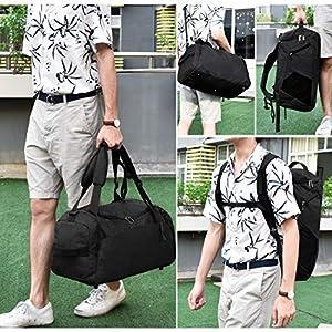 51iaAK2edML. SS300  - Bolsa Deporte Bolsa Gimnasio de Viaje Impermeable Bolsos Deportivos Fin de Semana Travel Duffle Bag para Hombre y Mujer…