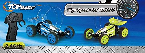 Top Race® Extreme High Speed Fernbedienung Auto, 2,4GHz, neuesten Design, schnellste Mini RC Ever (Farben variieren) - 5