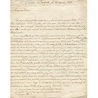 Lettera in doppio foglio (mm. 200 x 250) 88 righe
