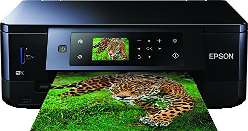 Epson Expression Premium XP-640 3-in-1 Tintenstrahl-Multifunktionsgerät (Drucker, Scanner, kopieren, WiFi, Duplex, CD/DVD Druck, Einzelpatronen) schwarz