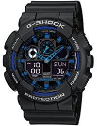 Casio G-Shock Herren Analog/Digital Quarz mit Resin Armbanduhr GA1001A2ER