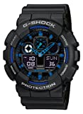Casio G-Shock – Men's Analogue/Digital Watch with Resin Strap – GA-100-1A2ER