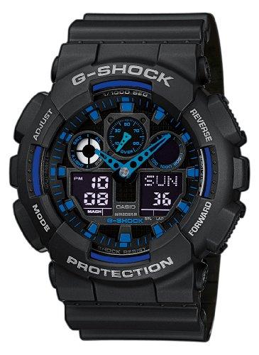 g shock kinder G-Shock Herren Armbanduhr GA-100-1A2ER