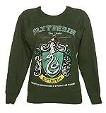 TruffleShuffle Harry Potter Slytherin Quidditch Team Damenpullover