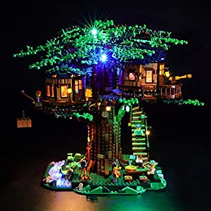 LIGHTAILING Set di Luci per (Ideas The Treehouse) Modello da Costruire - Kit Luce LED Compatibile con Lego 21318 (Non… 0716852282128 LEGO