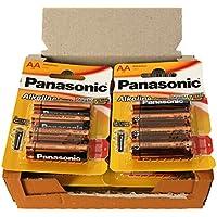 Panasonic POWER LR6 AA-Confezione da 48 batterie alcaline