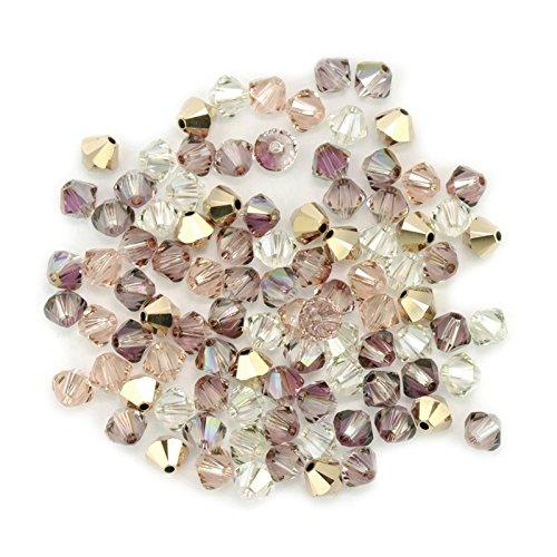 swarovski-crystal-vintage-rose-4mm-xilion-mix-qty-1