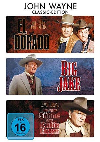 Bild von El Dorado / Big Jake / Die vier Söhne der Katie Elder [3 DVDs]
