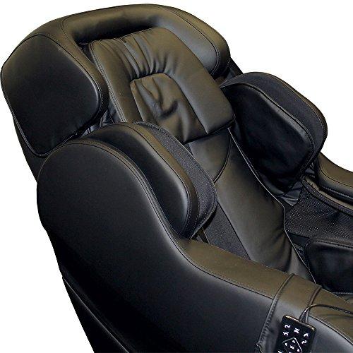 Gess Integro Zero Gravity Fachmann Massage Sessel (schwarz) Schwerelosigkeit shiatsu Klopfen Kneten Massage Infrarot-Erwärmung gute Qualität Körper Massager