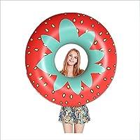 YAMI Donut Inflable Piscina Flotador Playa Natación Juguete Anillo De Natación Natación De Goma Piscina Flotador