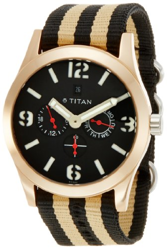 51iaHZxReBL - Titan 9473AP01J Purple Mens watch