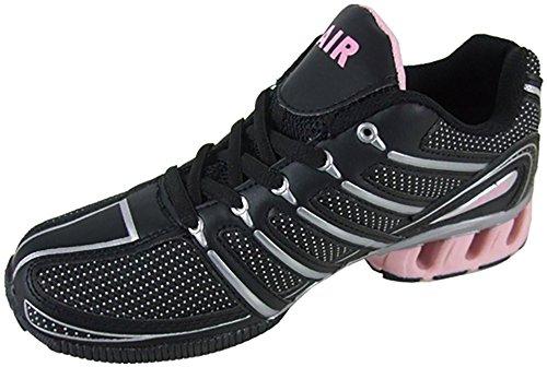 Airtech, Scarpe da corsa donna Nero nero Nero (Black / Pink (Raid))