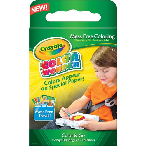 Get Crayola Color Wonder Color & Go Kit- Discount