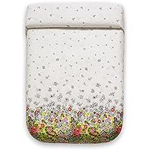 Sancarlos Primavera Colcha Floral, Poliéster, Verde, Matrimonial, Cama 150, 250x270