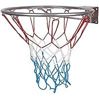 Hang Ring Ring Canasta de baloncesto con anillo y cesta con Red Niños 45cm